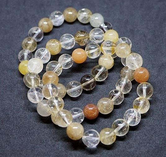 Multi Rutilated Quartz Bracelets