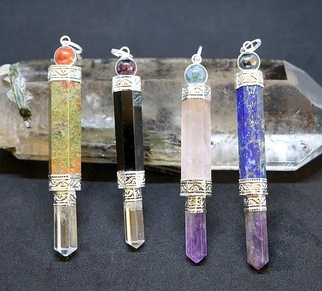 Crystal Wands Pendulums