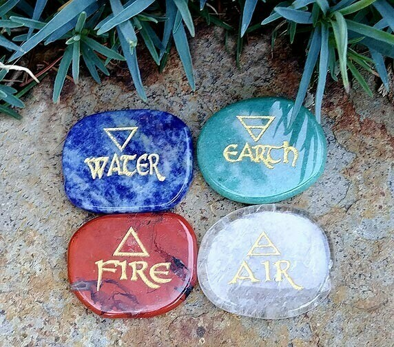 Custom Four Elements Stones
