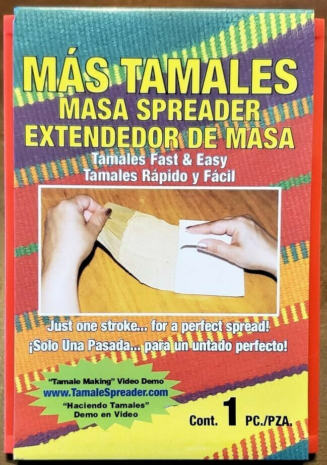 Masa Spreader for Tamales. Green color