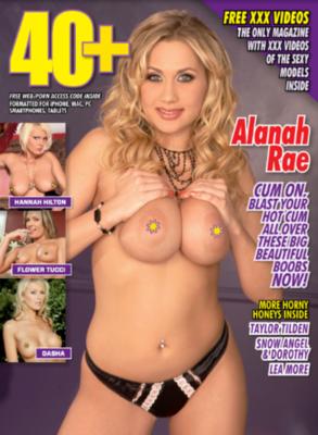 40+ #99 2018 MILF Magazine Alanah Rae