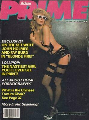VINTAGE Adam Prime Magazine vol. 1 #2 1980