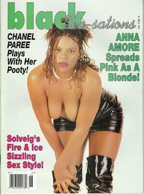 Black Sex-sations Magazine Ebony's Phat Booty! V3N6 2000 SOLVIEG OBSESSION KITTEN