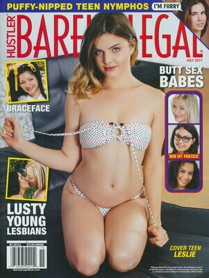Barely Legal Magazine Back Issue July 2017