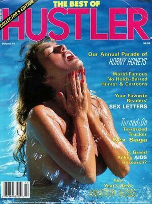 Best of Hustler Vintage Adult Magazine #14 1988