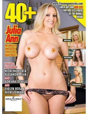 40+ MILF Magazine #08 2019 Julia Ann