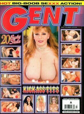 Gent Busty Magazine Big Boob Sexxx Action! September 2009