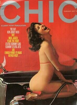 Chic Adult Magazine February 1977