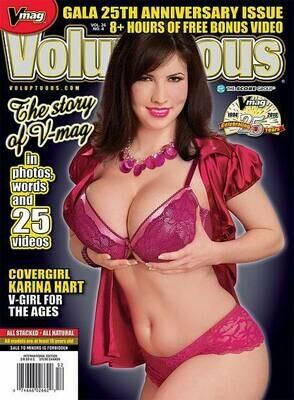 Voluptuous Magazine Vol 26 #4 2019 Karina Hart