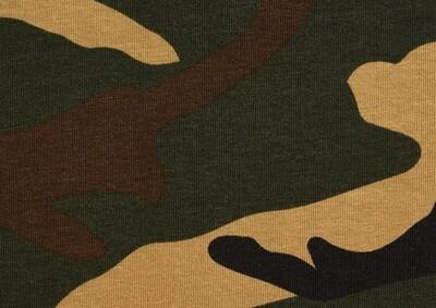 Camouflage NEULOS, tummanvihreä