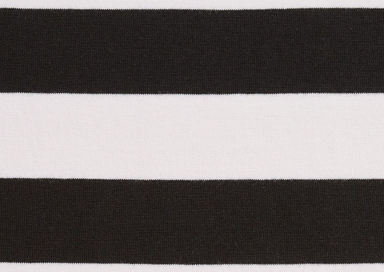 TRIKOO Leveä tasaraita, mustavalkoinen