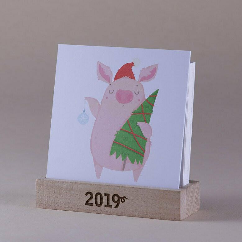 Календарь 12 PiGS (12 Поросят)