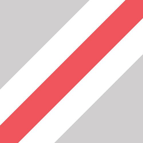 Трехслойные визитки с красным средним слоем