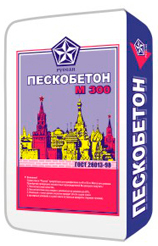 Пескобетон м300 Русеан