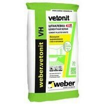 Шпаклевка финишная Ветонит VH (Weber VH)