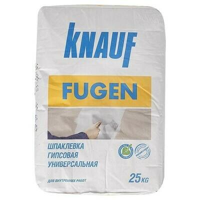 Шпаклевка Кнауф Фуген гипсовая (KNAUF Fugen)