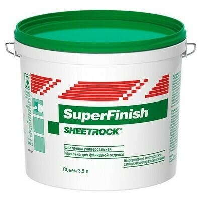 Шпаклевка Шитрок полимерная (Sheetrock SuperFinish)
