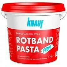 Ротбанд паста шпаклевка финишная Кнауф (KNAUF Rotband Pasta Profi)