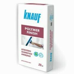 Шпаклевка финишная полимер Кнауф (KNAUF Polymer Finish)