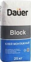 Клей монтажный для блоков Dauer BLOCK/Дауэр Блок
