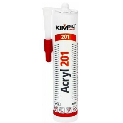 Герметик акриловый KIM TEC Acryl 201 , 310 мл, белый