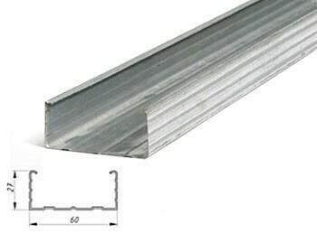 Профиль Эконом 60х27х3м 0,40мм потолочный