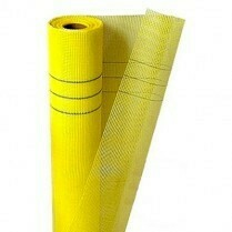 Сетка фасадная 1х35м (Желтая)
