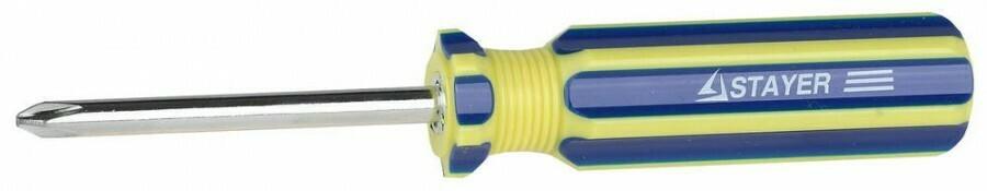 Отвертка 2-в-1 PH2/SL 6x70мм Stayer 2512