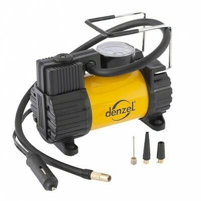 Компрессор автомобильный DENZEL 58055 (производительность 37 л.мин, напряжение 12В)