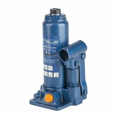 Домкрат гидравлический бутылочный STELS 2т. 51121
