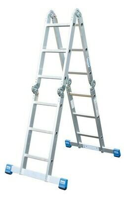 Шарнирная лестница-трансформер 4*4