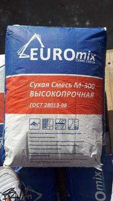 Evro MIX сухая смесь М-300 Высокопрочная