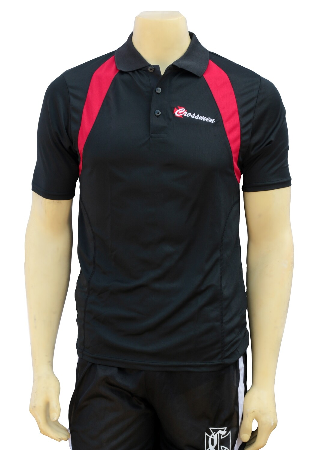 Red and Black Polo