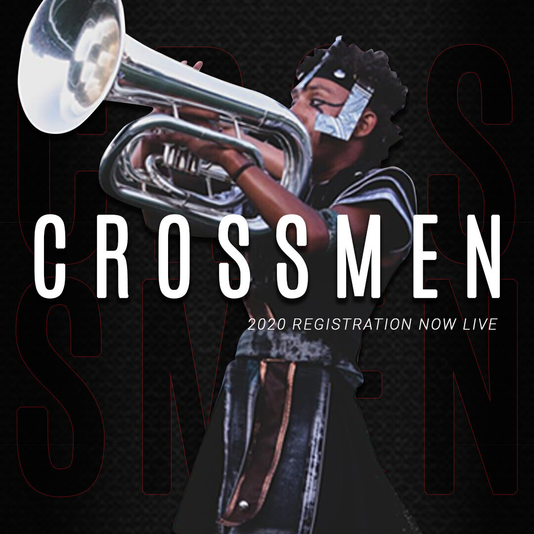 2020 Crossmen Annual Registration Fee w/ Audition Packet - Brass