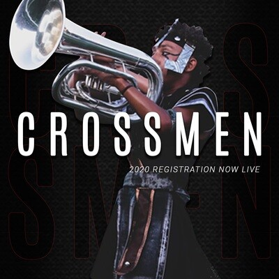 2020 Crossmen Annual Registration Fee w/ Audition Packet - Brass
