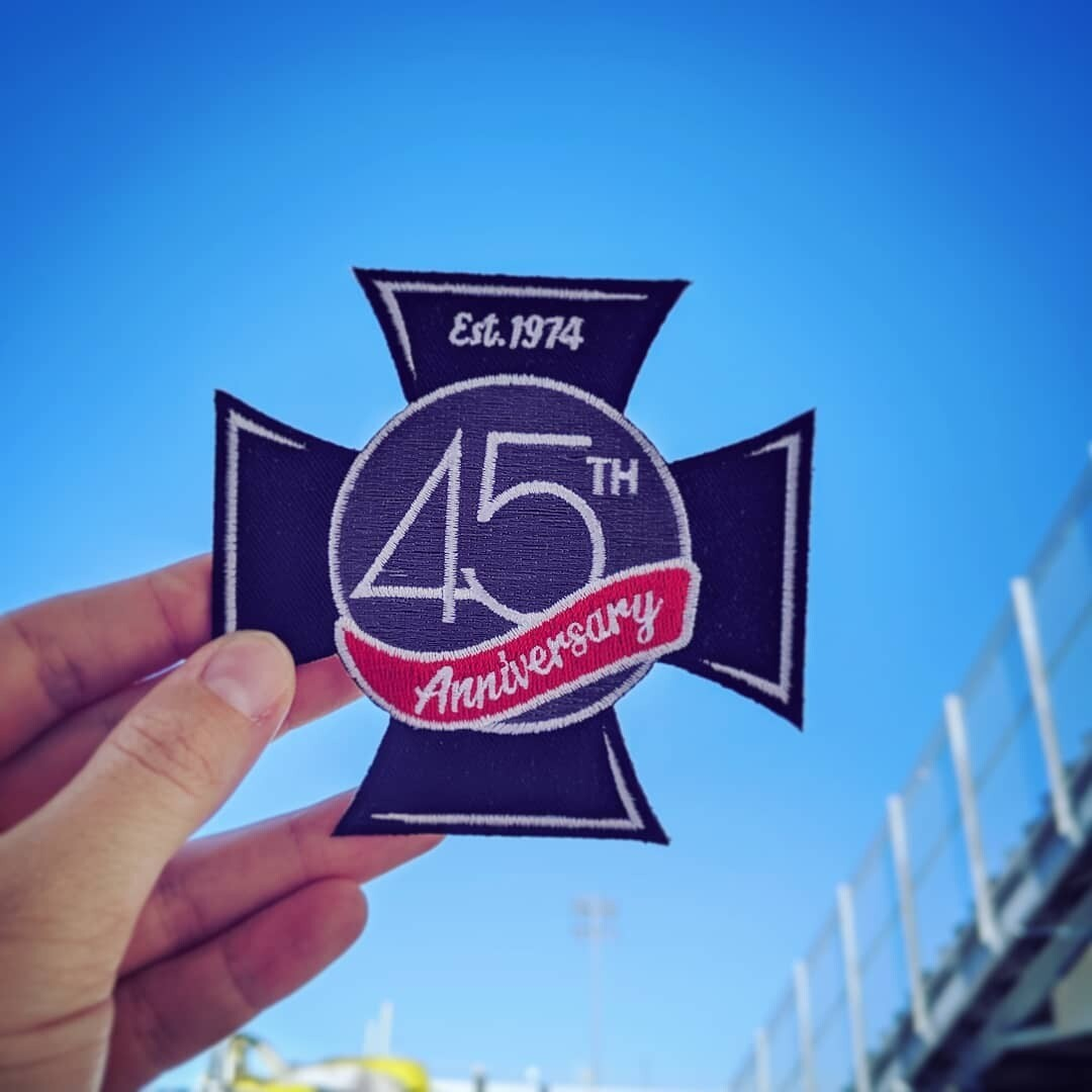 45th Anniversary Patch