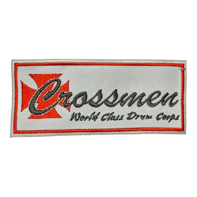 Crossmen Drum and Bugle Corps Patch