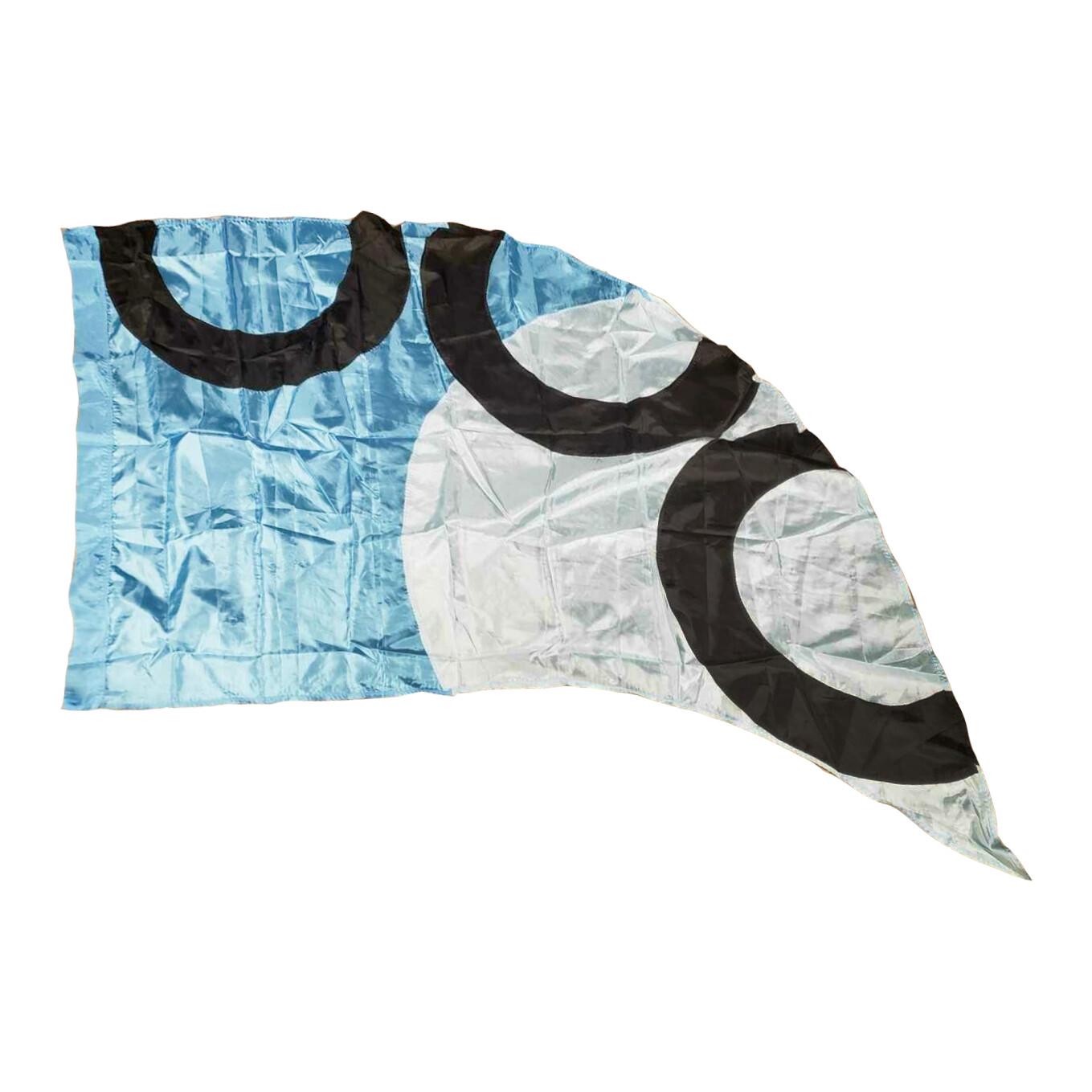 """Blue """"3 Circles"""" Flag (2010)"""