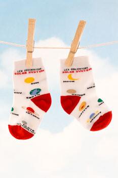 Lick Observatory Solar System Kids' Sock