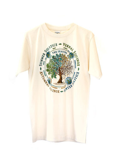 Seasons T-Shirt, Men's and Women's Sizes -- Equinox and Solstice Cycles