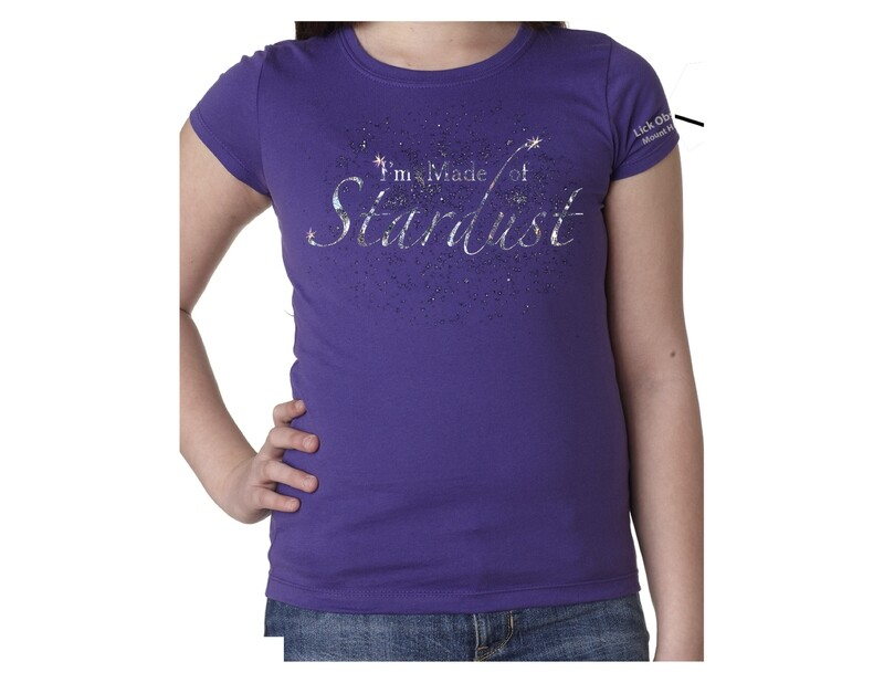 Stardust T-shirt, Ladies' and Girls' Sizes ($15.99-$21.99)