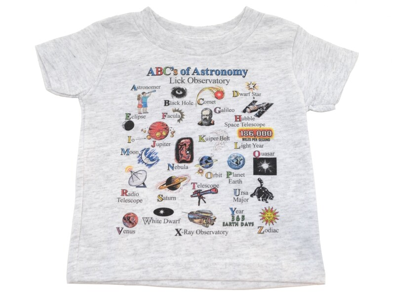 ABCs of Astronomy T-shirt, Infant - Toddler