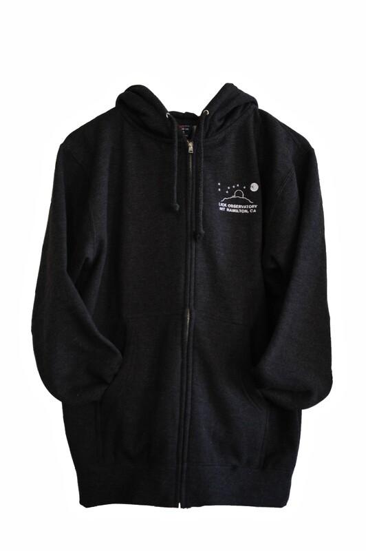 Hoodie Full-Zip Sweatshirt in Charcoal