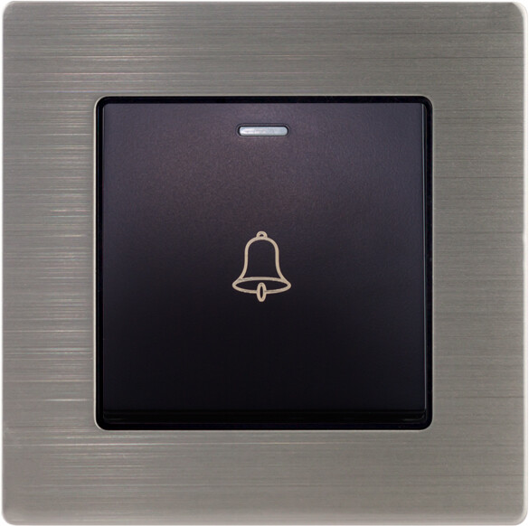 Door Bell with stainless steel frame