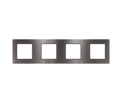 4 Gang stainless steel frame
