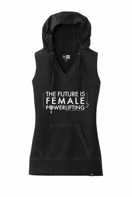 The Future is Female Sleeve-less Hoodie