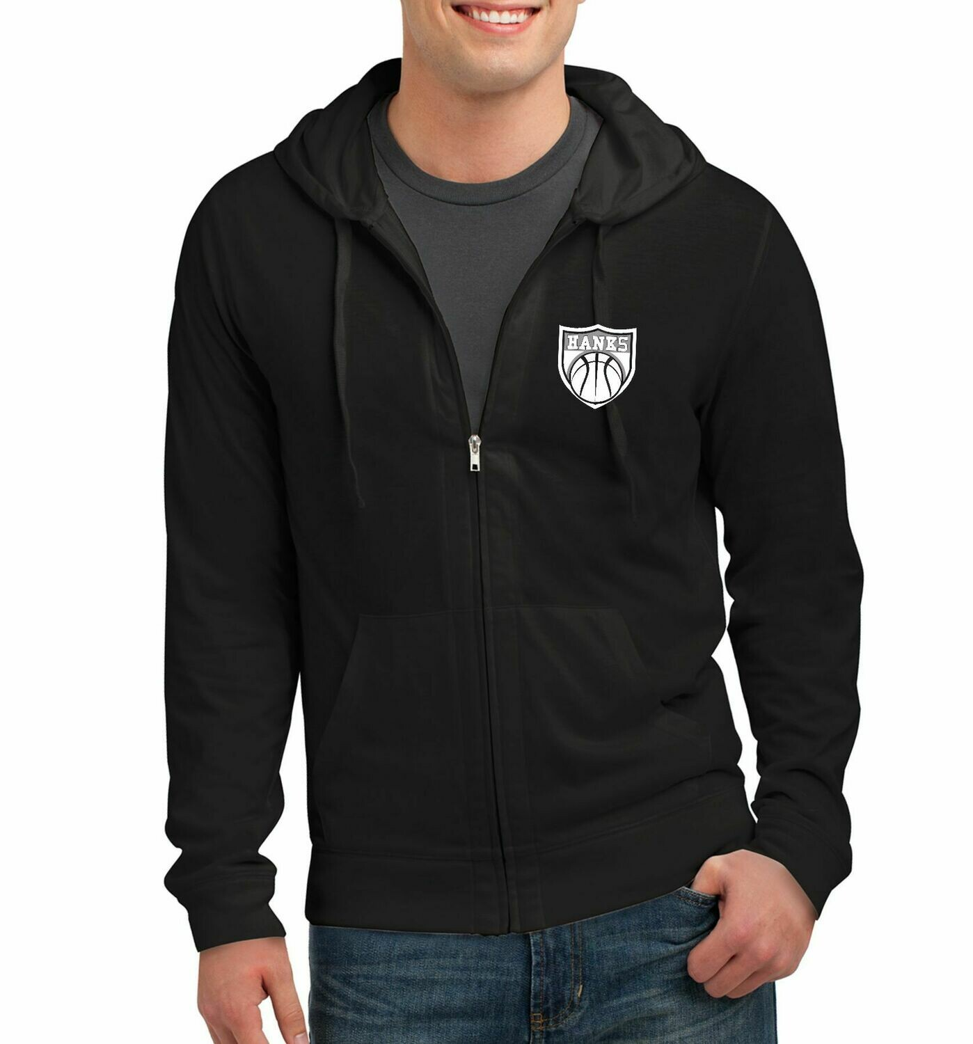 Hanks Basketball Crest Zip Up