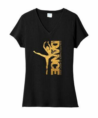 Dance Ladies V-Neck