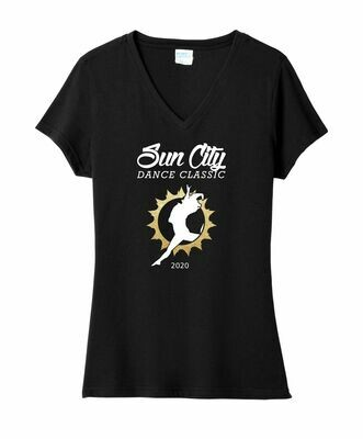 Sun City Dance Classic Ladies V-Neck