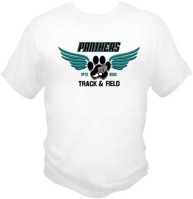 El Paso Panther's Running Club Sublimated Drifit T